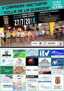 Cartel La Guardia 2018 - Patrocinadores
