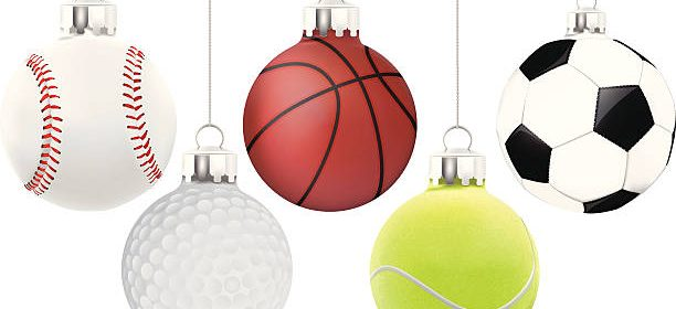 Sport Christmas Ornament - Vector Illustration