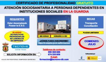 CURSO ATENCION SOCIOSANITARIA LA GUARDIA