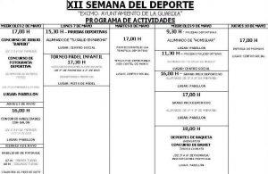 Programa Semana Juventud