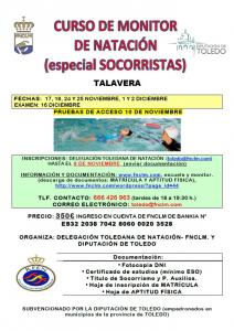 CURSO MONITOR NATACIÓN ESPECIAL SOCORRISTAS